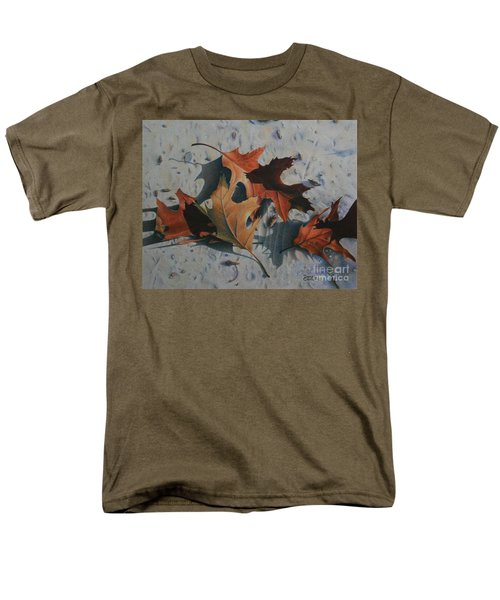 Men's T-Shirt  (Regular Fit) featuring the painting Beach Still Life by Pamela Clements