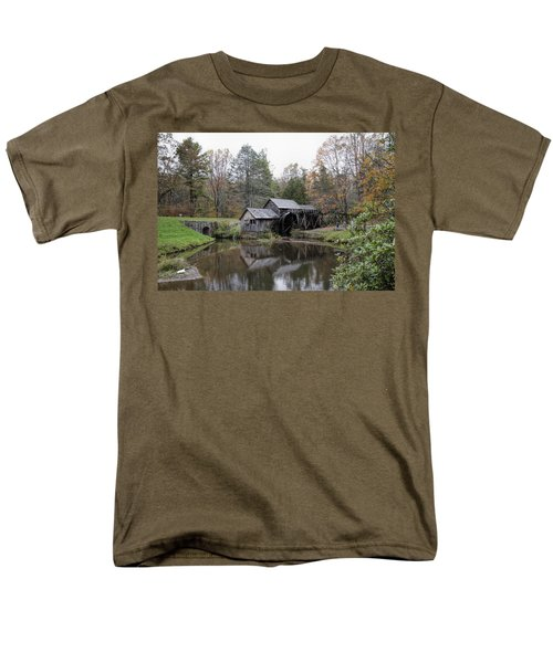 Beautiful Historical Mabry Mill Men's T-Shirt  (Regular Fit) by Kathy Clark