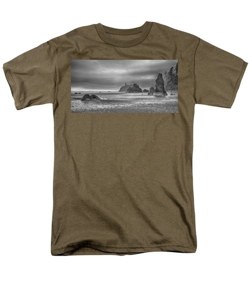 Beauty In Grey Men's T-Shirt  (Regular Fit)