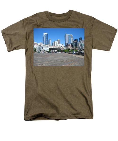 Below The Line Men's T-Shirt  (Regular Fit) by David Trotter
