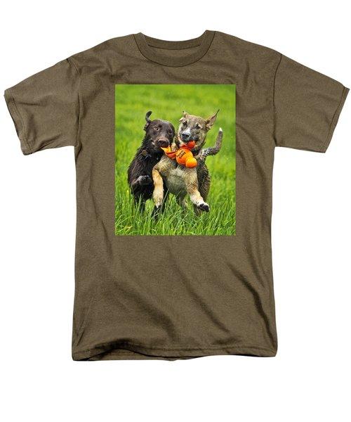Men's T-Shirt  (Regular Fit) featuring the photograph Best Friends 2011 by Joan Davis