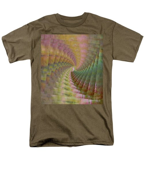 Men's T-Shirt  (Regular Fit) featuring the mixed media Between Heaven And Earth by PainterArtist FIN