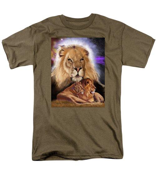 Third In The Big Cat Series - Lion Men's T-Shirt  (Regular Fit) by Thomas J Herring