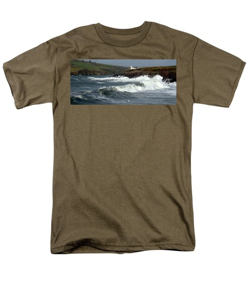 Big Swell In Dingle Bay Men's T-Shirt  (Regular Fit) by Barbara Walsh