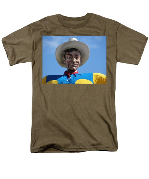 Men's T-Shirt  (Regular Fit) featuring the photograph Big Tex by Charlie and Norma Brock