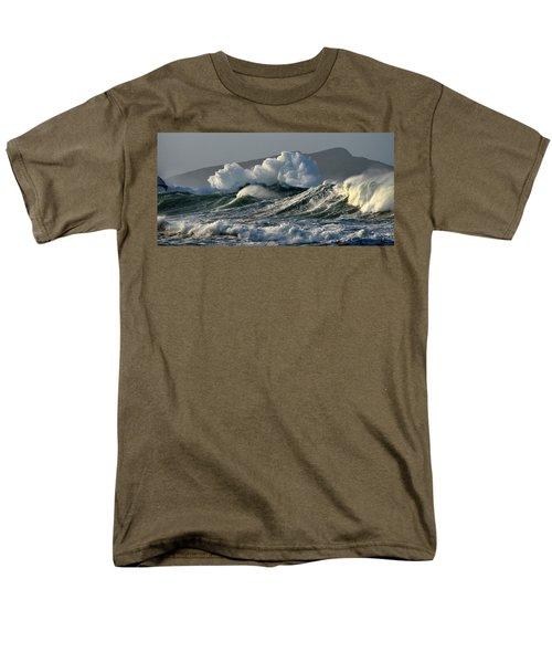 Big Waves At Clogher Beach Men's T-Shirt  (Regular Fit) by Barbara Walsh