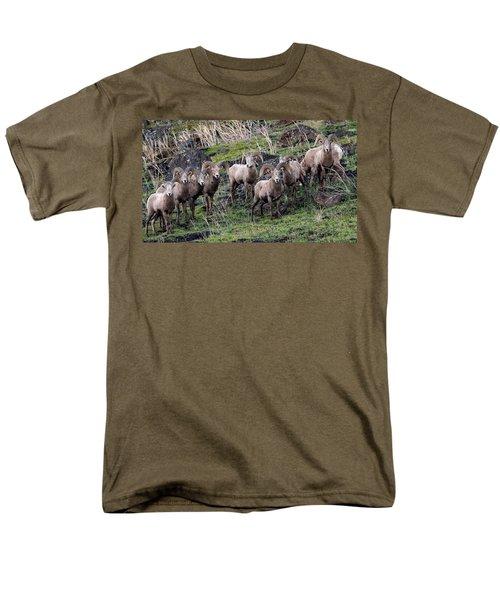 Bighorn Reunion Men's T-Shirt  (Regular Fit) by Steve McKinzie