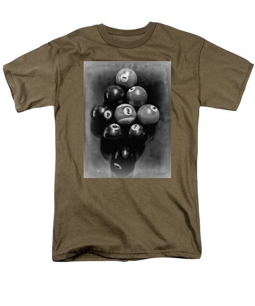 Billiards Art - Your Break - Bw  Men's T-Shirt  (Regular Fit)