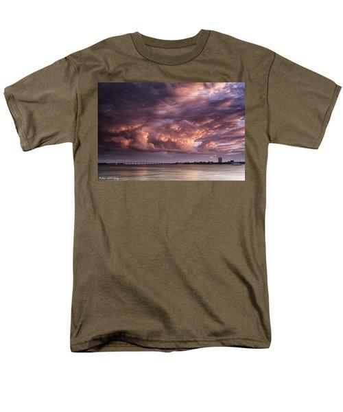 Billowing Clouds Men's T-Shirt  (Regular Fit) by Fran Gallogly