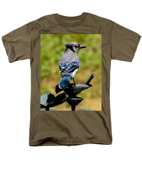 Bird On A Bird Men's T-Shirt  (Regular Fit) by Robert L Jackson