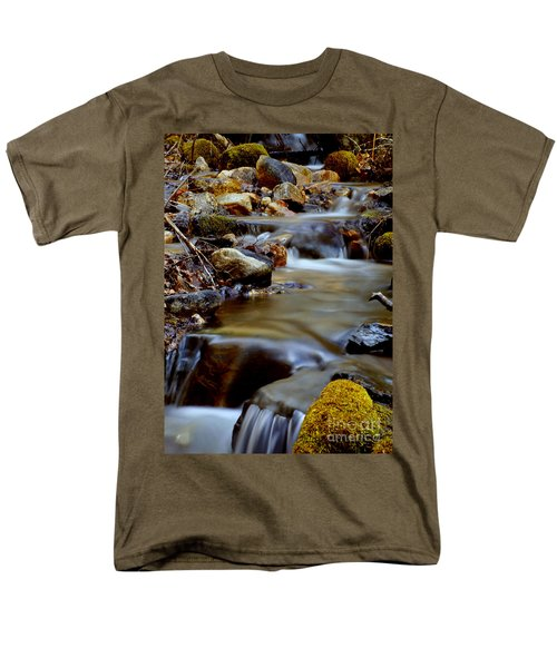 Bisbee Creek Men's T-Shirt  (Regular Fit) by Loni Collins