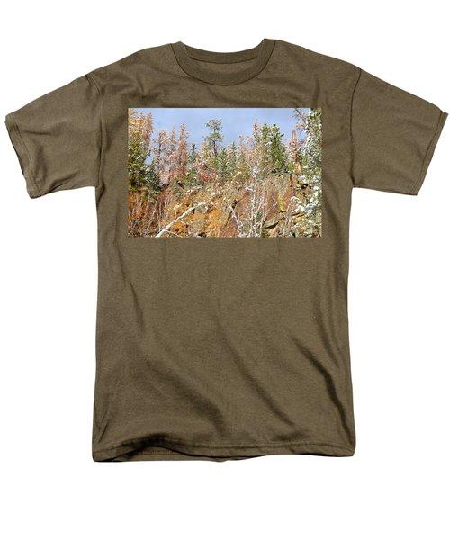Men's T-Shirt  (Regular Fit) featuring the photograph Black Hills Color Palette by Clarice  Lakota