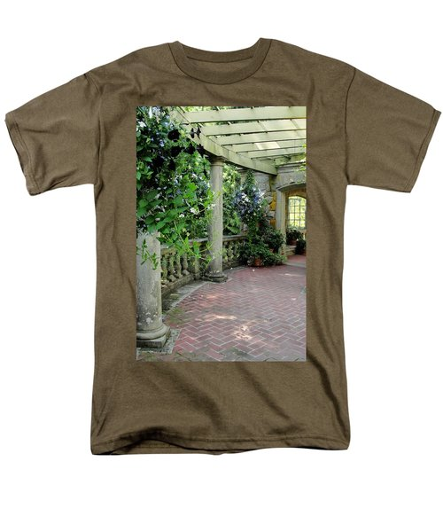 Men's T-Shirt  (Regular Fit) featuring the photograph Black Petunias by Natalie Ortiz