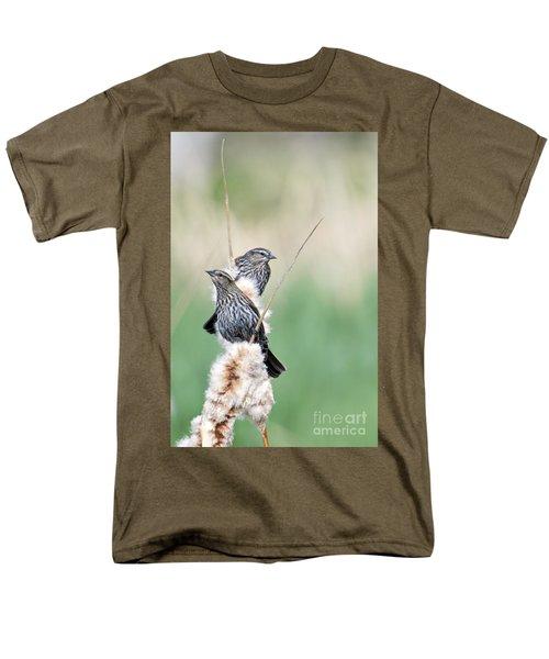 Blackbird Pair Men's T-Shirt  (Regular Fit)