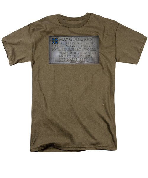 Blessing Men's T-Shirt  (Regular Fit) by Stephen Stookey