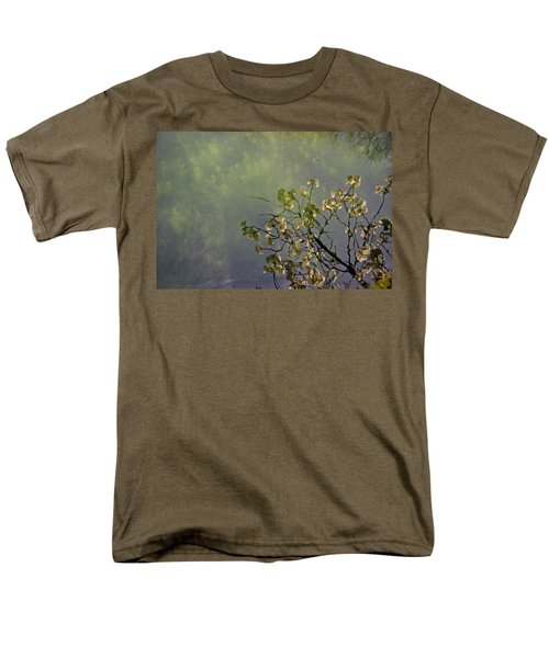 Men's T-Shirt  (Regular Fit) featuring the photograph Blossom Reflection by Marilyn Wilson