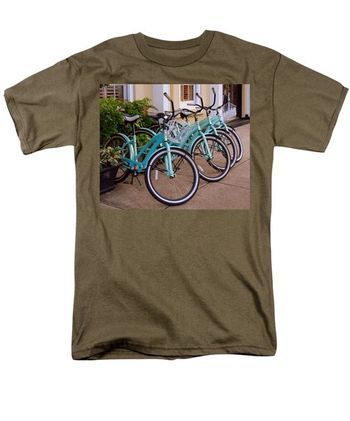 Blue Bikes Men's T-Shirt  (Regular Fit)