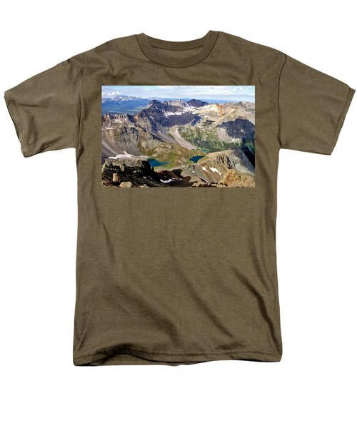 Men's T-Shirt  (Regular Fit) featuring the photograph Blue Lakes Beauty by Jeremy Rhoades