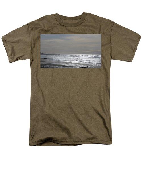 Men's T-Shirt  (Regular Fit) featuring the photograph Blue Lighthouse View by Susan Garren
