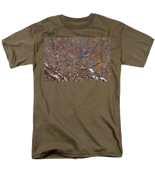 Men's T-Shirt  (Regular Fit) featuring the photograph Blue Norther by Gary Holmes