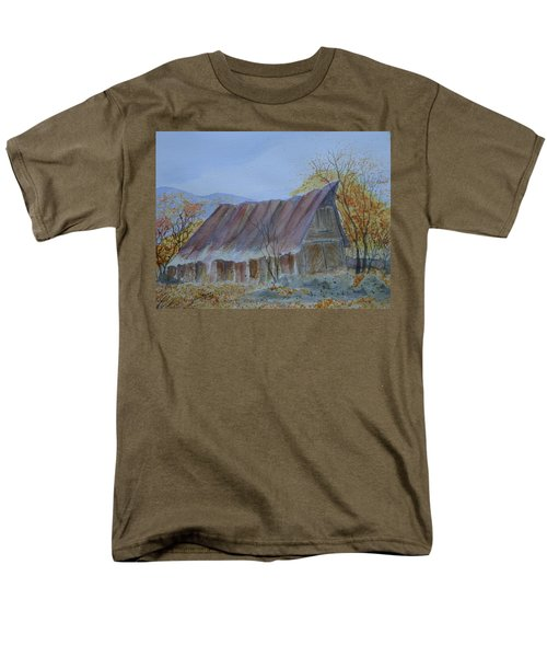 Blue Ridge Barn Men's T-Shirt  (Regular Fit) by Joel Deutsch