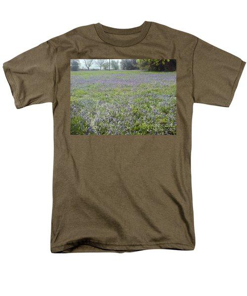 Bluebell Fields Men's T-Shirt  (Regular Fit) by John Williams