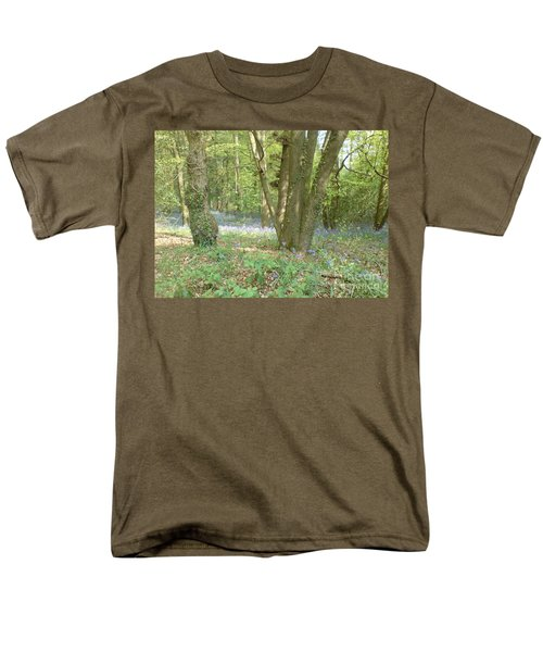 Men's T-Shirt  (Regular Fit) featuring the photograph Bluebell Wood by John Williams