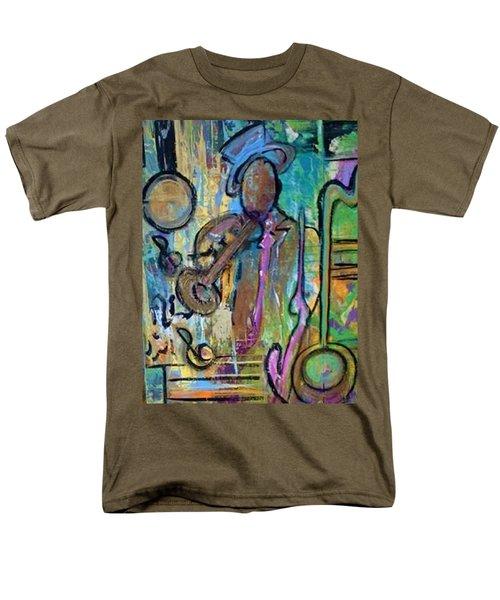 Blues Jazz Club Series Men's T-Shirt  (Regular Fit) by Kelly Turner