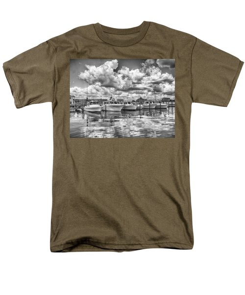 Boats Men's T-Shirt  (Regular Fit) by Howard Salmon