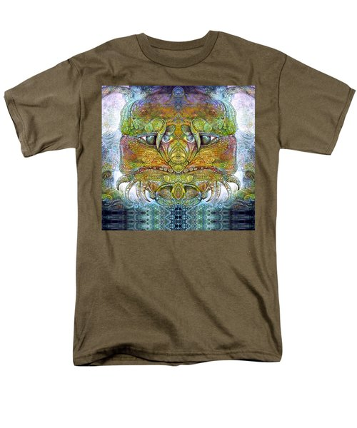 Men's T-Shirt  (Regular Fit) featuring the digital art Bogomil Variation 11 by Otto Rapp