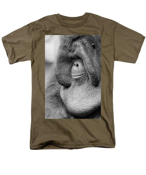 Bornean Orangutan V Men's T-Shirt  (Regular Fit) by Lourry Legarde