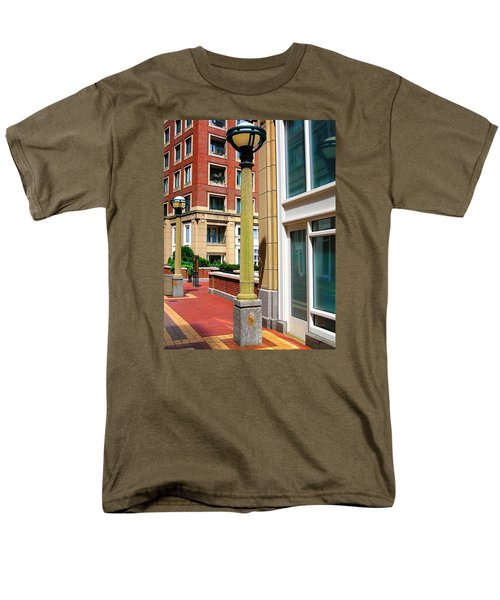 Boston Interior Men's T-Shirt  (Regular Fit) by Oleg Zavarzin