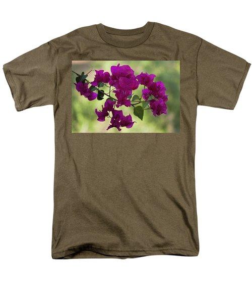 Bougainvillea Men's T-Shirt  (Regular Fit) by Fred Larson
