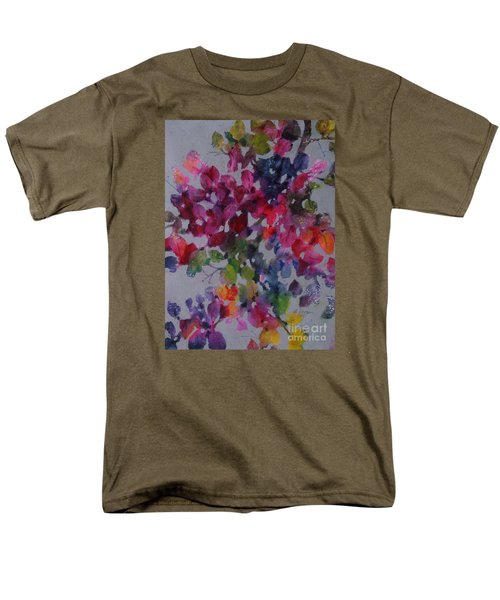 Bougainvillea Men's T-Shirt  (Regular Fit) by Michelle Abrams