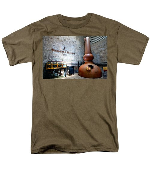 Bourbon Distillery Men's T-Shirt  (Regular Fit) by Alexey Stiop