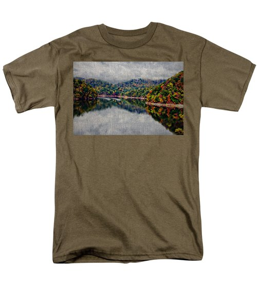 Breaking The Mirrow Men's T-Shirt  (Regular Fit) by Tom Culver