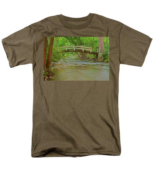 Bridge Over Valley Creek Men's T-Shirt  (Regular Fit) by Michael Porchik