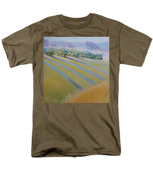 Buck Mountain Vineyards No.2 Men's T-Shirt  (Regular Fit) by Catherine Twomey