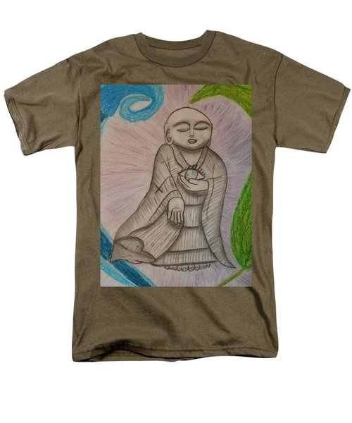 Buddha And The Eye Of The World Men's T-Shirt  (Regular Fit) by Thomasina Durkay