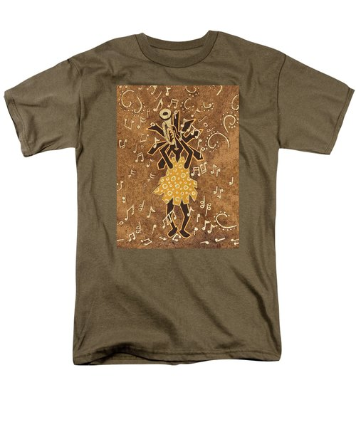 Bugle Player Men's T-Shirt  (Regular Fit) by Katherine Young-Beck