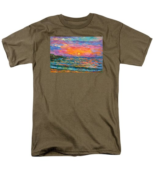 Burning Shore Men's T-Shirt  (Regular Fit) by Kendall Kessler