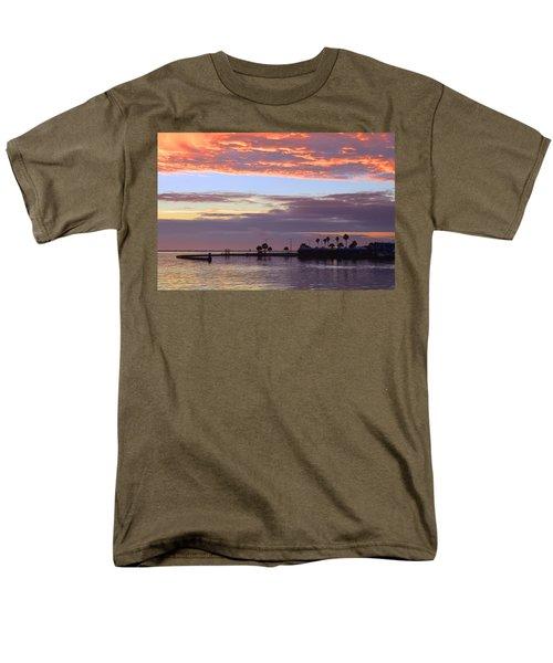 Burning Sky Men's T-Shirt  (Regular Fit) by Leticia Latocki