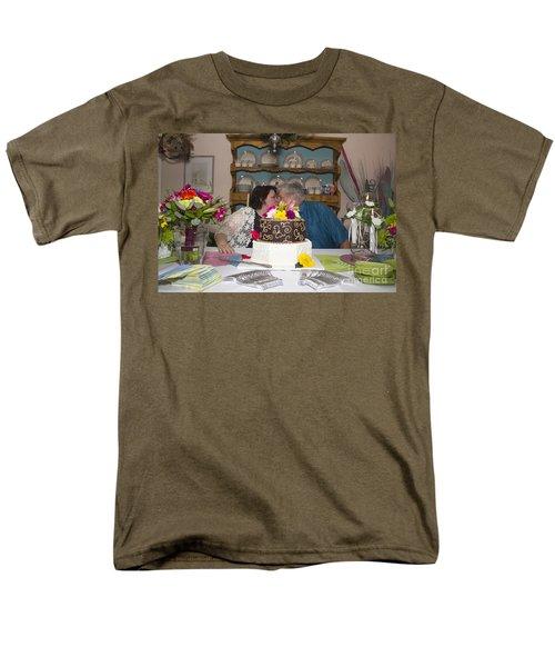 Burns 7537 Men's T-Shirt  (Regular Fit) by Alycia Christine