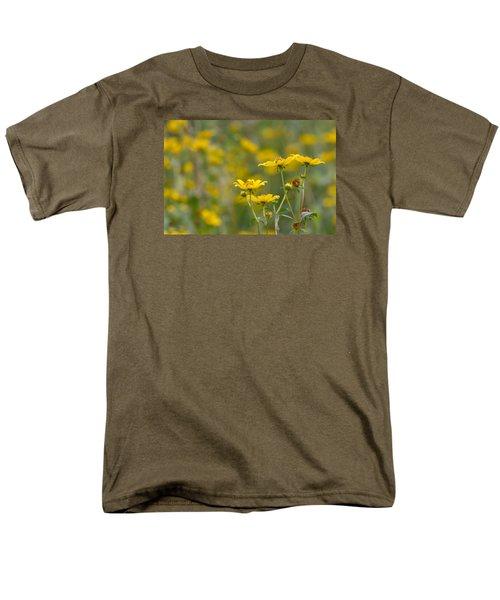 Men's T-Shirt  (Regular Fit) featuring the photograph Burrmarigold by Paul Rebmann
