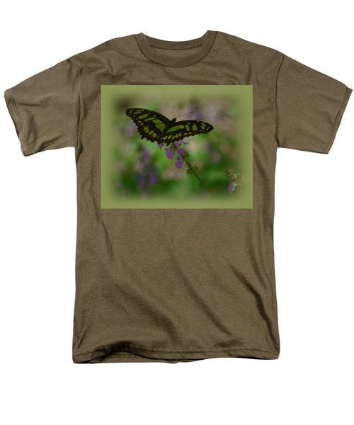 Men's T-Shirt  (Regular Fit) featuring the photograph Butterfly 4 by Leticia Latocki