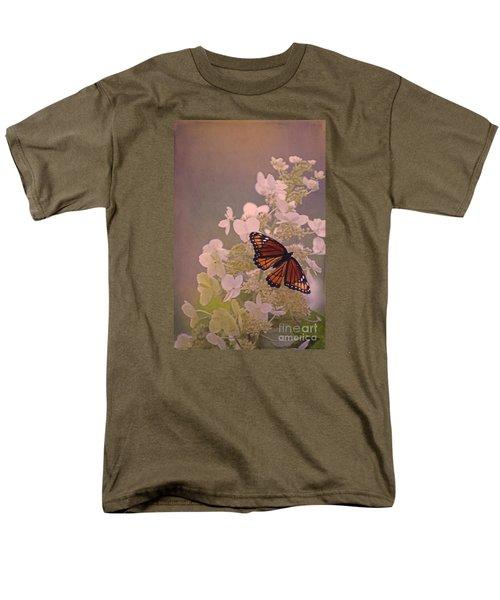 Butterfly Glow Men's T-Shirt  (Regular Fit) by Elizabeth Winter