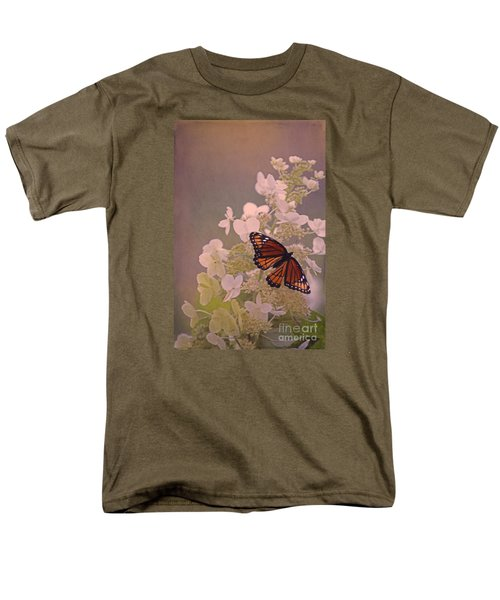 Butterfly Glow Men's T-Shirt  (Regular Fit)