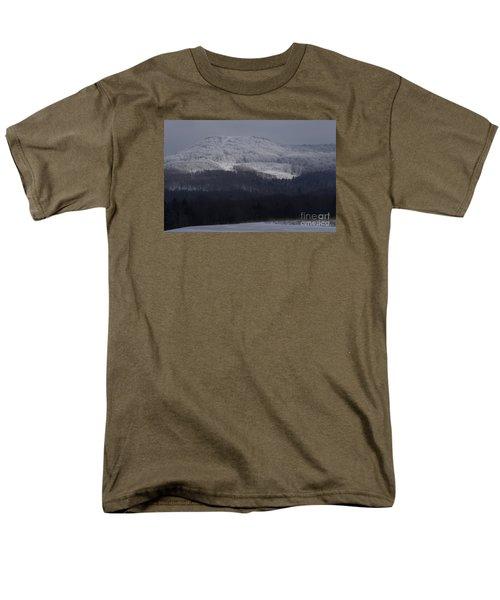 Cabin Mountain Men's T-Shirt  (Regular Fit) by Randy Bodkins