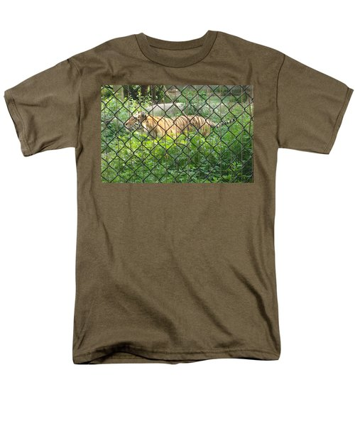 Men's T-Shirt  (Regular Fit) featuring the photograph Caged by Fortunate Findings Shirley Dickerson