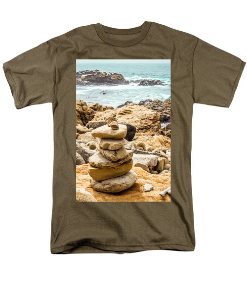 Cairn Men's T-Shirt  (Regular Fit) by Suzanne Luft